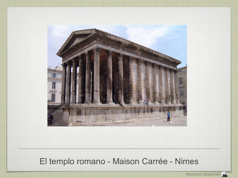 El templo romano - Maison Carrée - Nimes