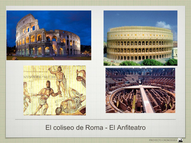 El coliseo de Roma - El Anfiteatro