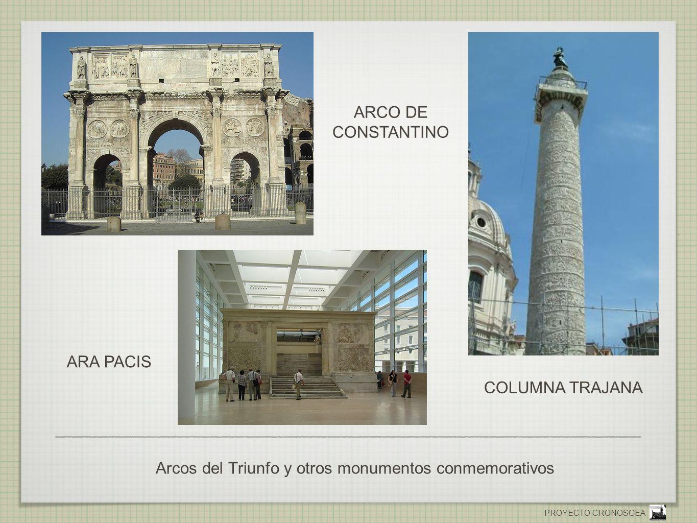 Arcos del Triunfo y otros monumentos conmemorativos