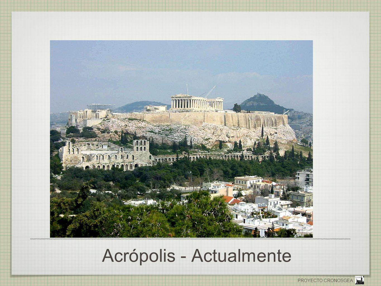 Acrópolis - Actualmente