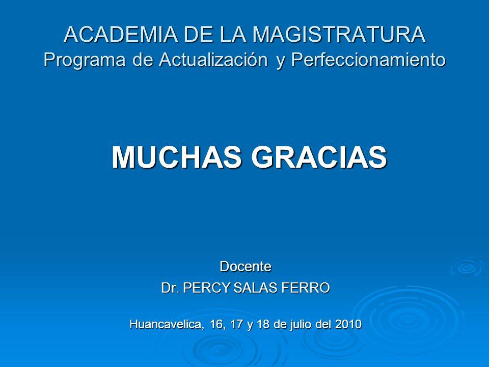 Huancavelica, 16, 17 y 18 de julio del 2010