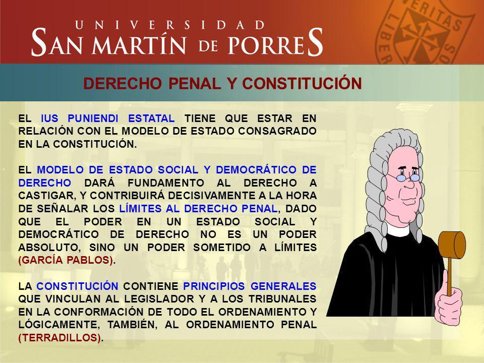DERECHO PENAL Y CONSTITUCIÓN