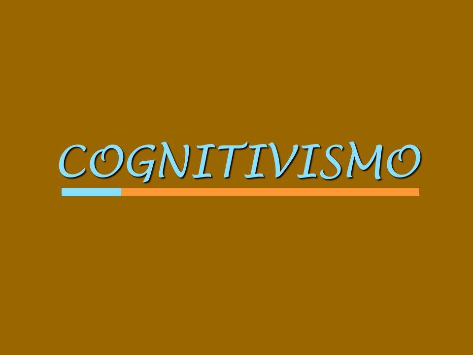 COGNITIVISMO