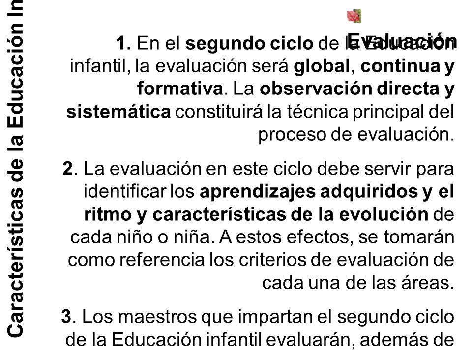 Características de la Educación Infantil