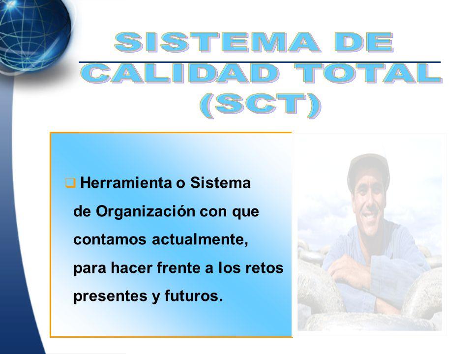 SISTEMA DE CALIDAD TOTAL (SCT) de Organización con que