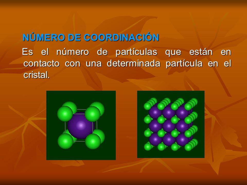 NÚMERO DE COORDINACIÓN