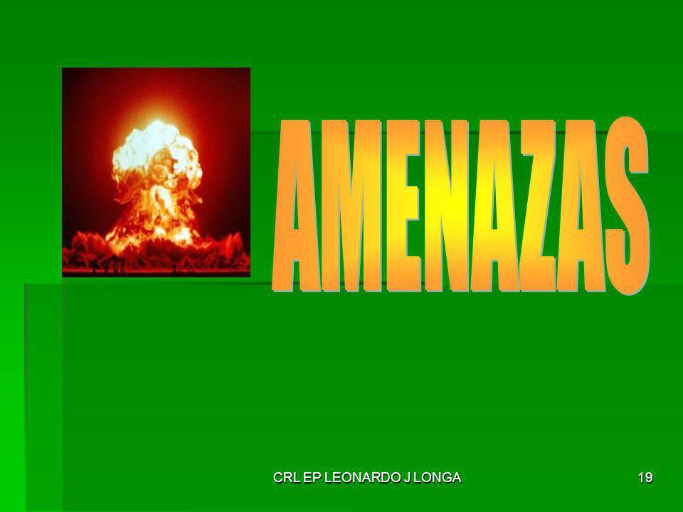 AMENAZAS CRL EP LEONARDO J LONGA