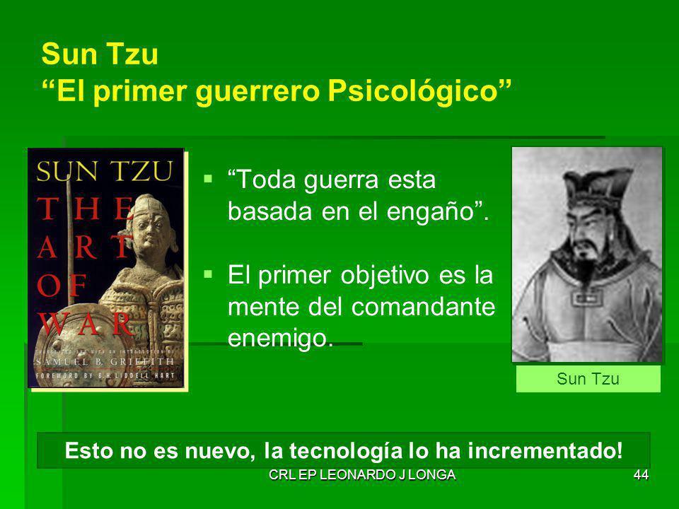 Sun Tzu El primer guerrero Psicológico