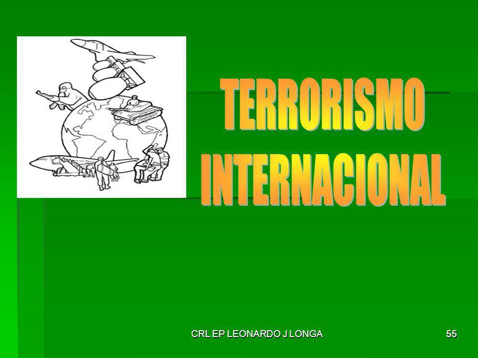 TERRORISMO INTERNACIONAL CRL EP LEONARDO J LONGA