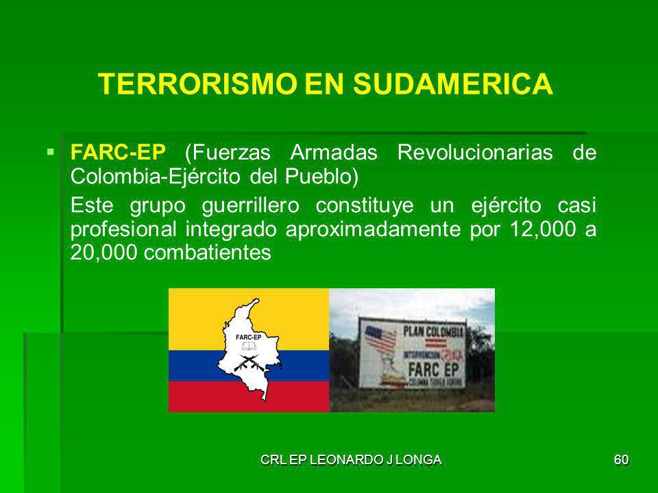 TERRORISMO EN SUDAMERICA