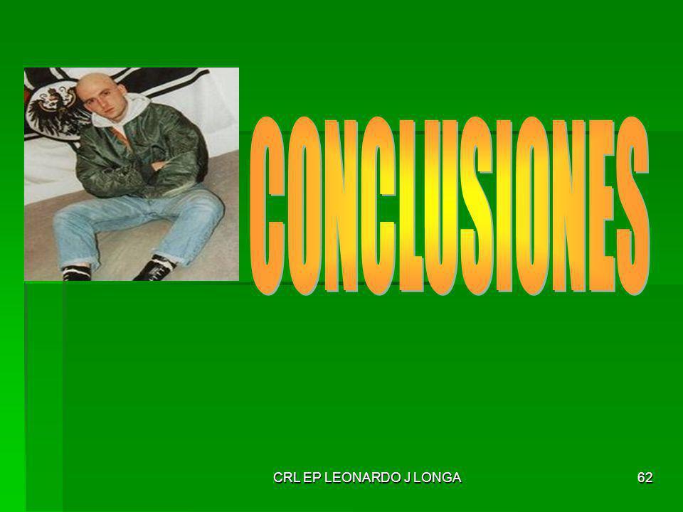 CONCLUSIONES CRL EP LEONARDO J LONGA