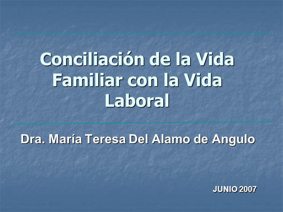 Conciliación de la Vida Familiar con la Vida Laboral