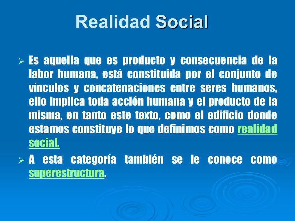 Realidad Social