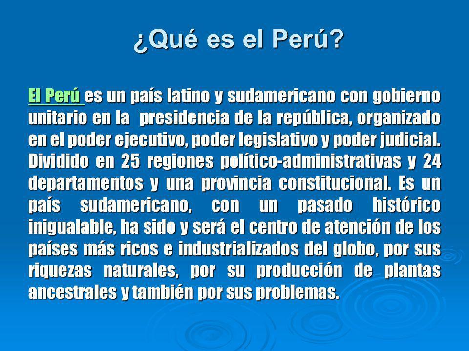 ¿Qué es el Perú
