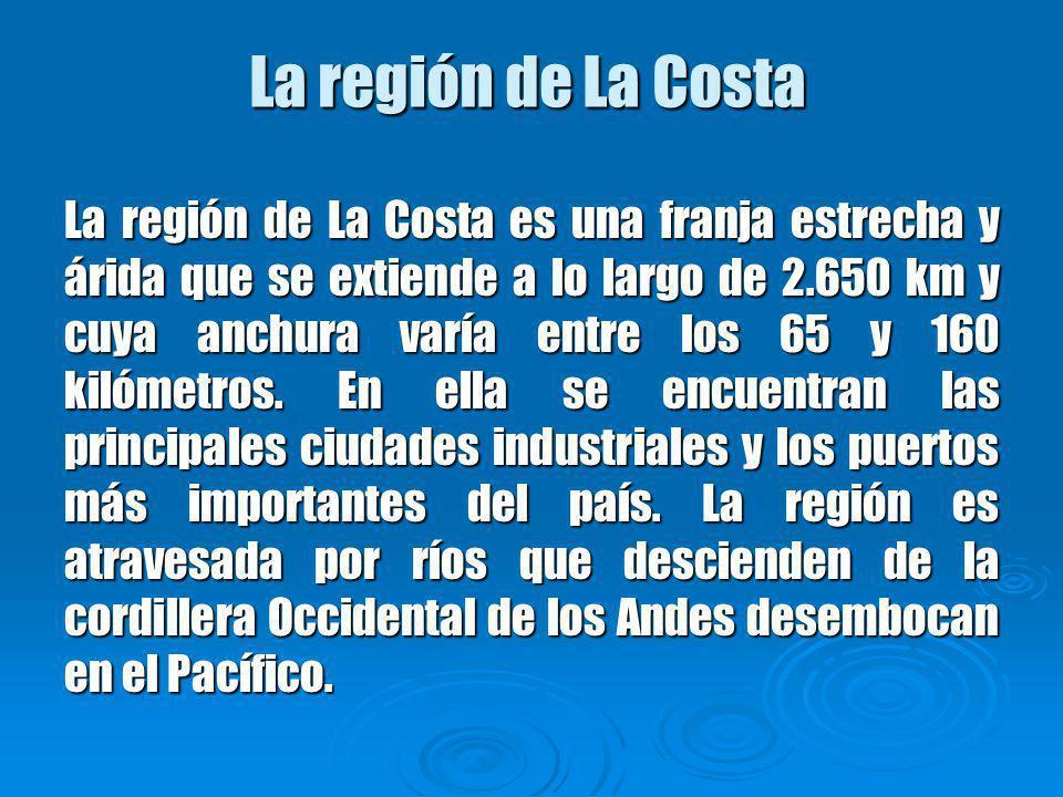 La región de La Costa