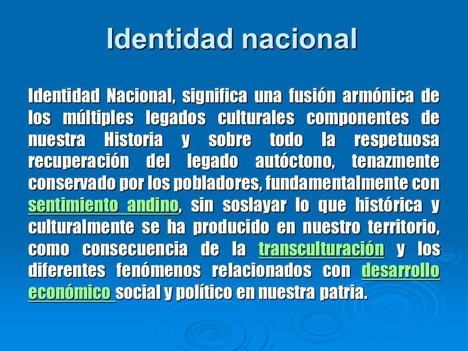 Identidad nacional