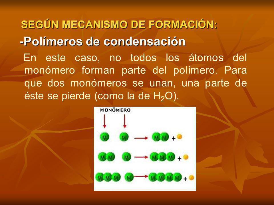 -Polímeros de condensación