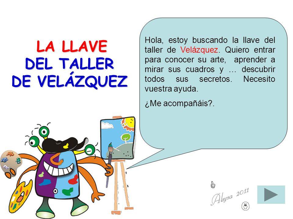 LA LLAVE DEL TALLER DE VELÁZQUEZ