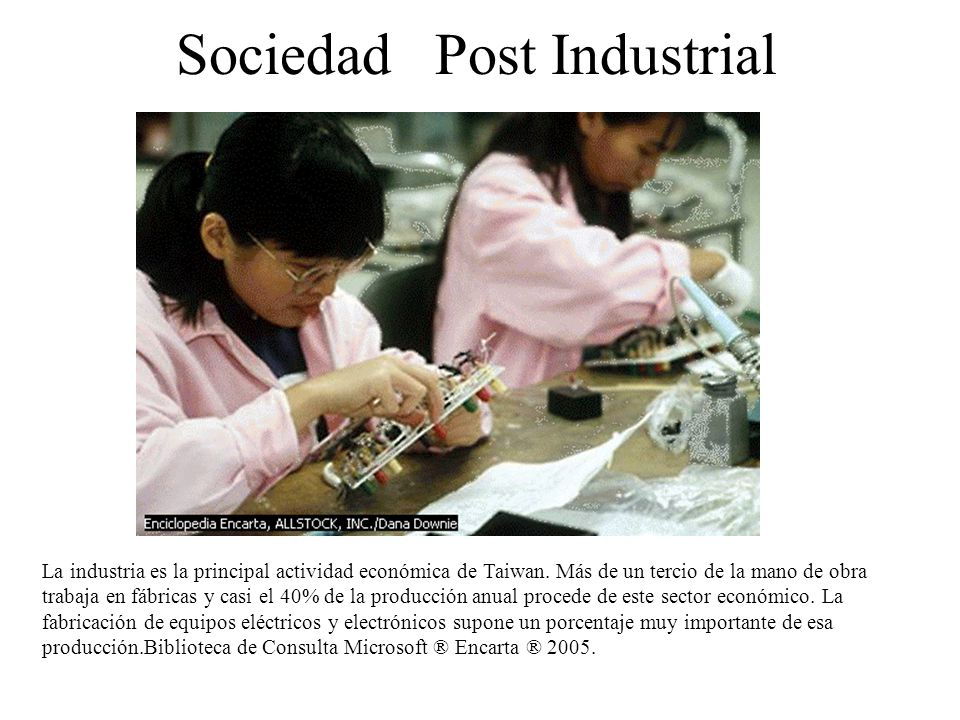 Sociedad Post Industrial