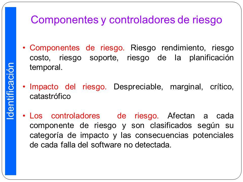 Componentes y controladores de riesgo