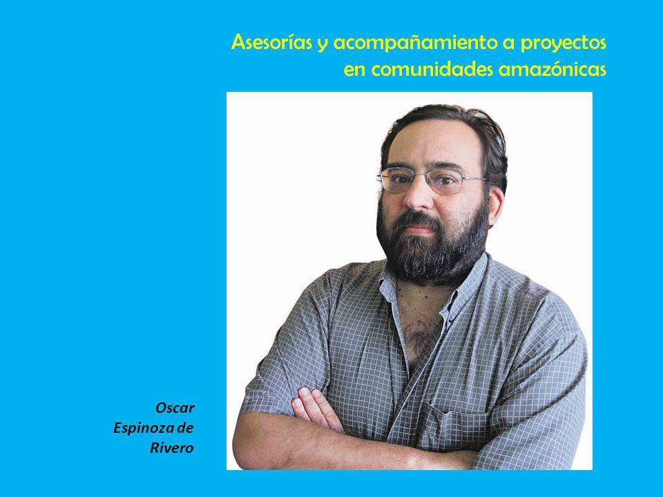Asesorías y acompañamiento a proyectos en comunidades amazónicas