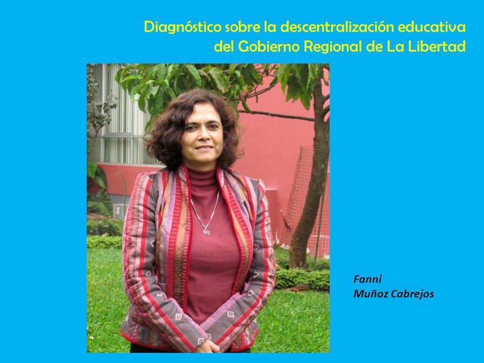 Diagnóstico sobre la descentralización educativa
