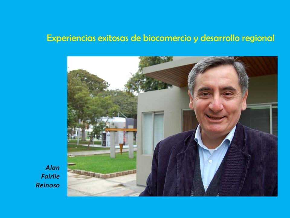 Experiencias exitosas de biocomercio y desarrollo regional