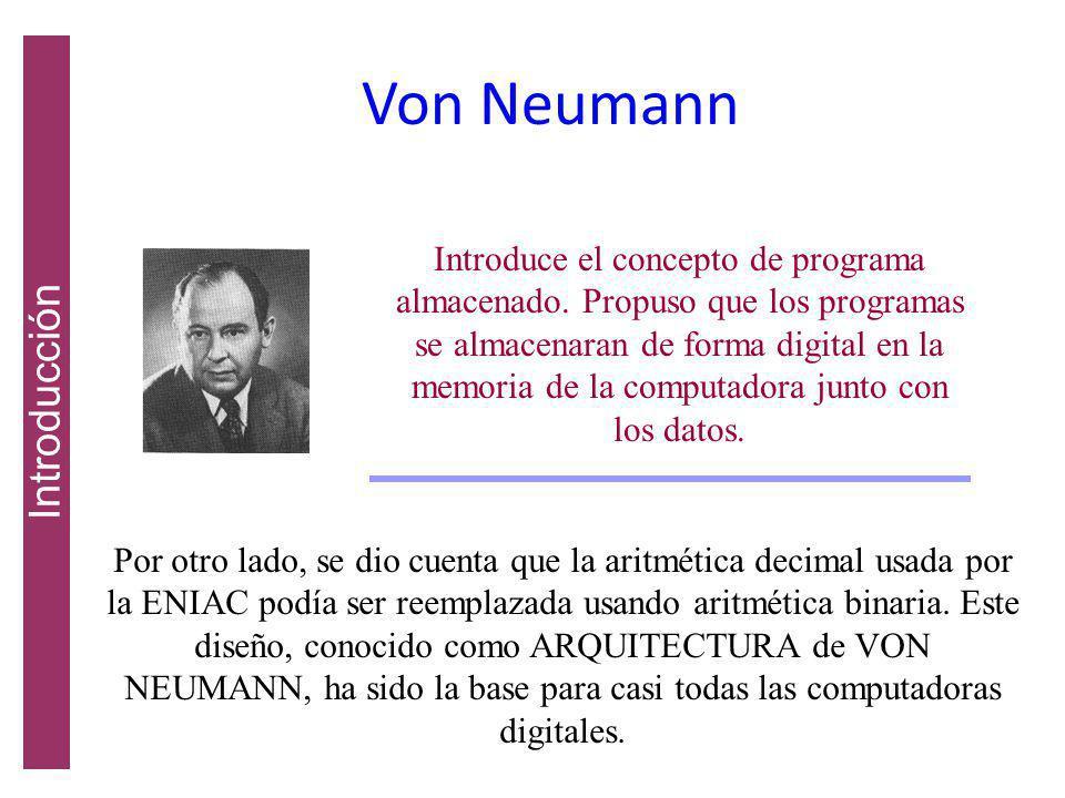 Von Neumann Introducción