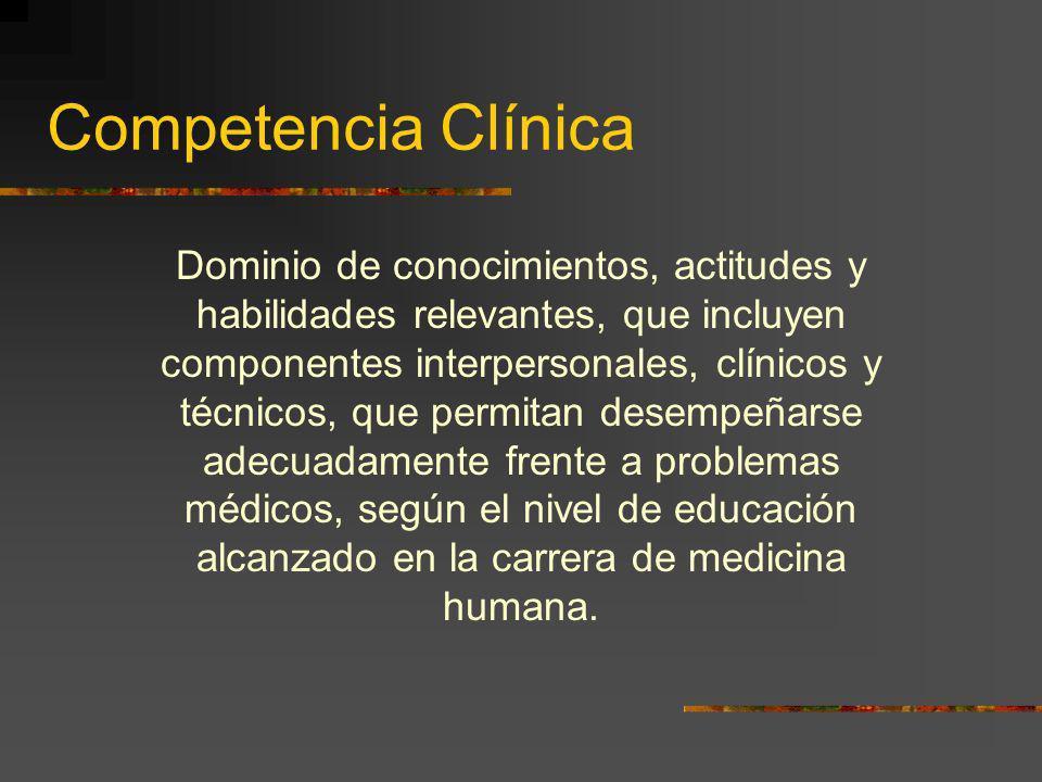 Competencia Clínica