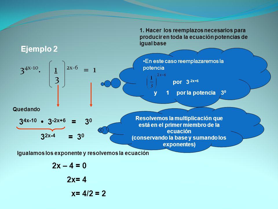 (conservando la base y sumando los exponentes)