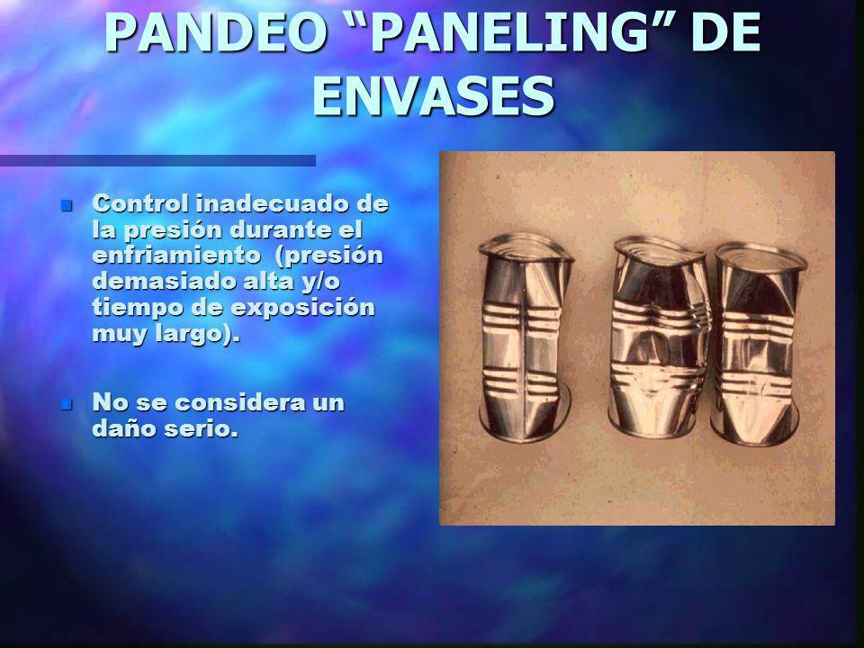 PANDEO PANELING DE ENVASES
