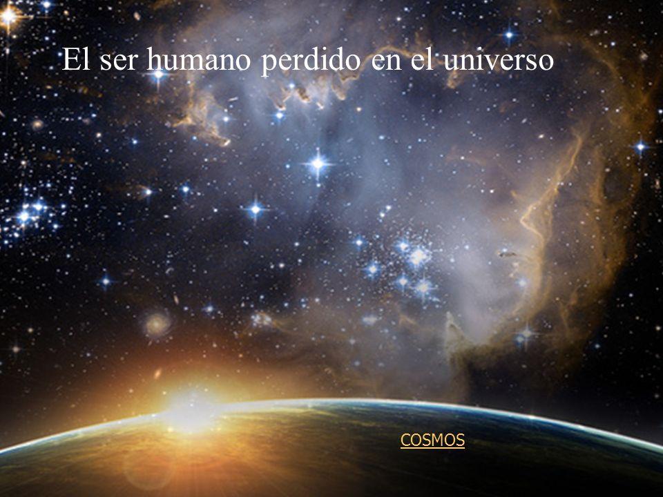 El ser humano perdido en el universo