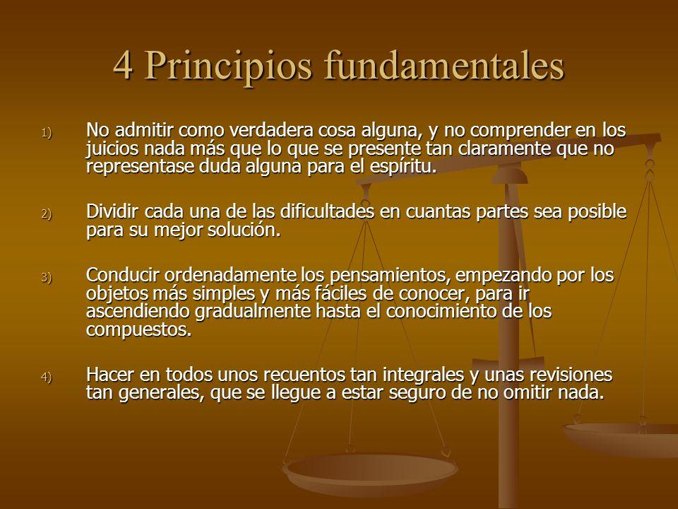 4 Principios fundamentales