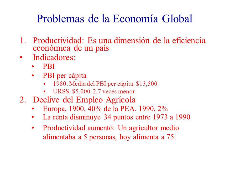 Problemas de la Economía Global