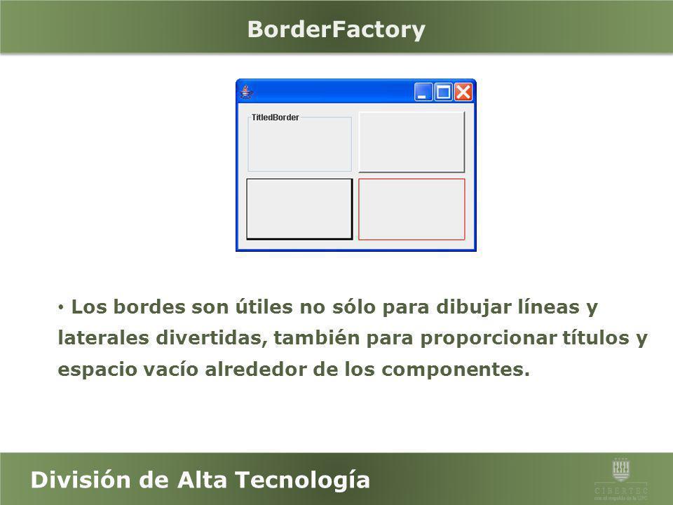 BorderFactory