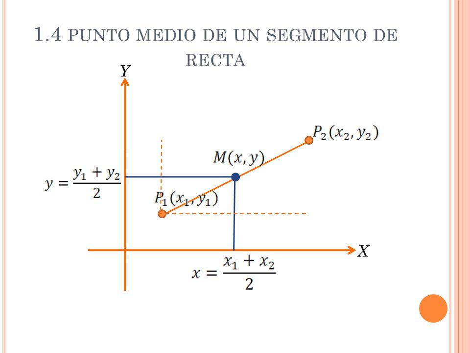 1.4 punto medio de un segmento de recta