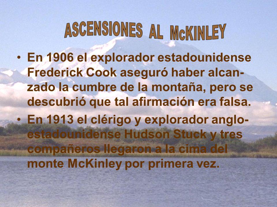 ASCENSIONES AL McKINLEY