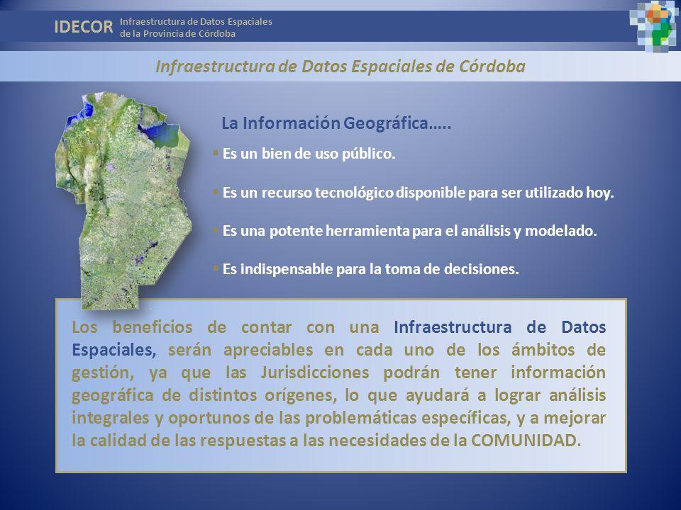 Infraestructura de Datos Espaciales de Córdoba