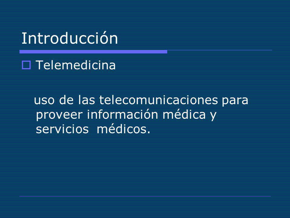 Introducción Telemedicina