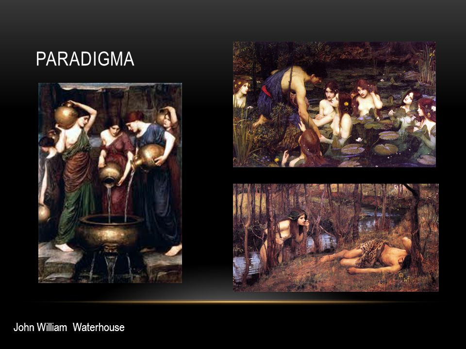 paradigma John William Waterhouse