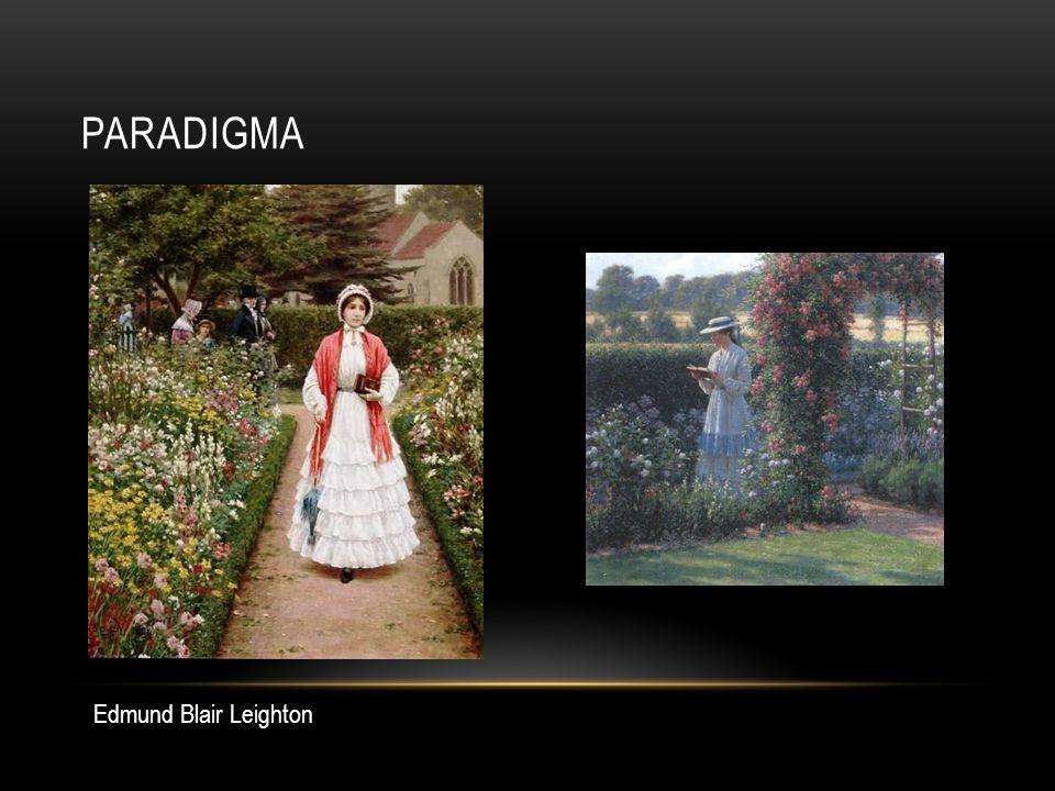 paradigma Edmund Blair Leighton