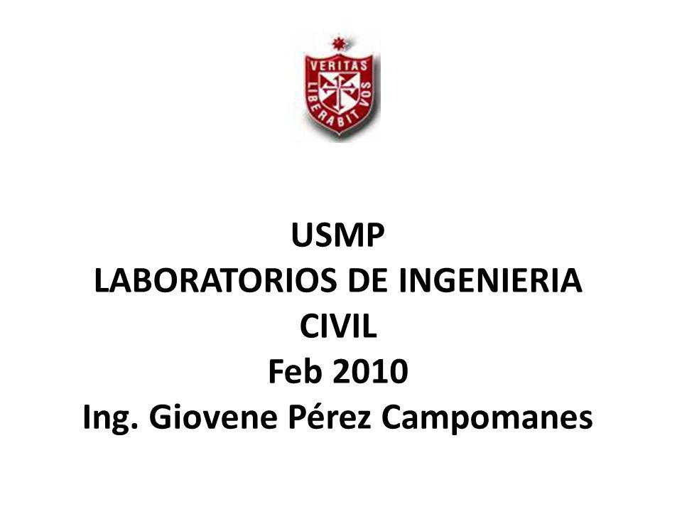 USMP LABORATORIOS DE INGENIERIA CIVIL Feb 2010 Ing
