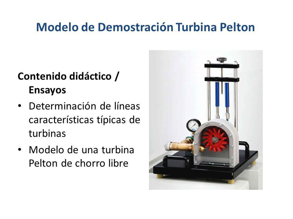 Modelo de Demostración Turbina Pelton