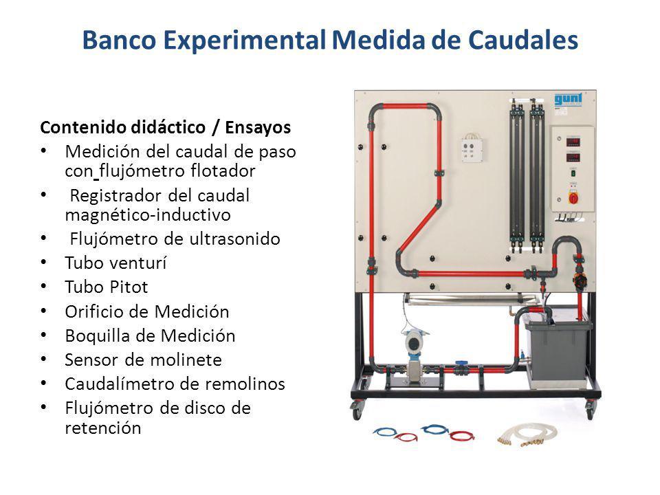 Banco Experimental Medida de Caudales