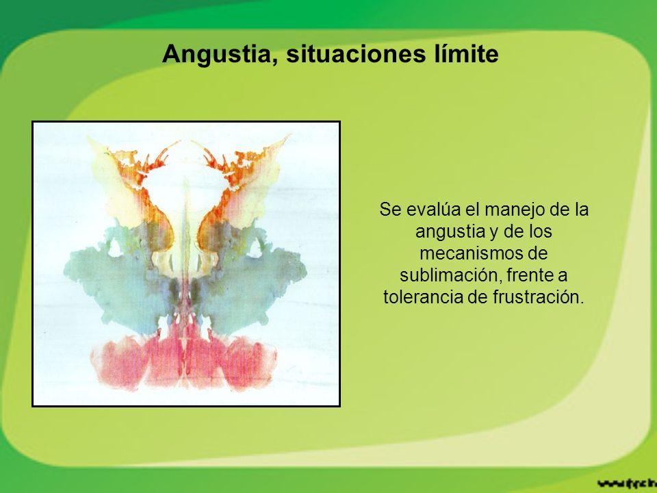 Angustia, situaciones límite