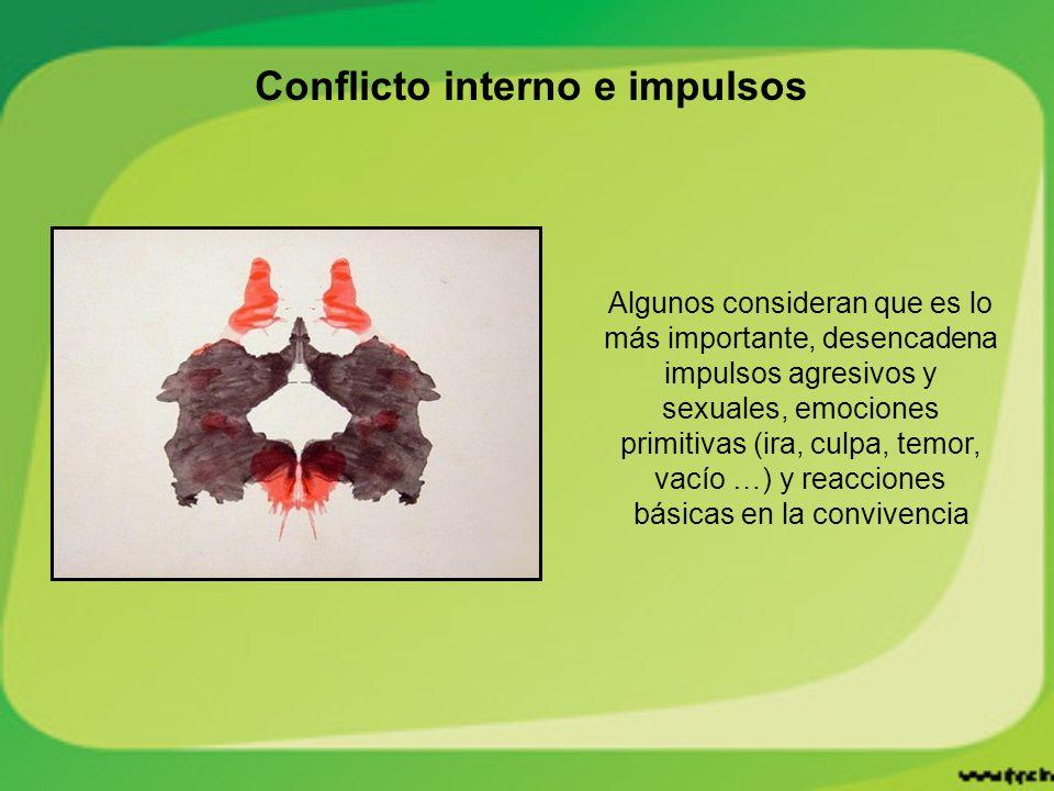Conflicto interno e impulsos