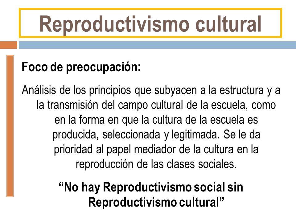 Reproductivismo cultural