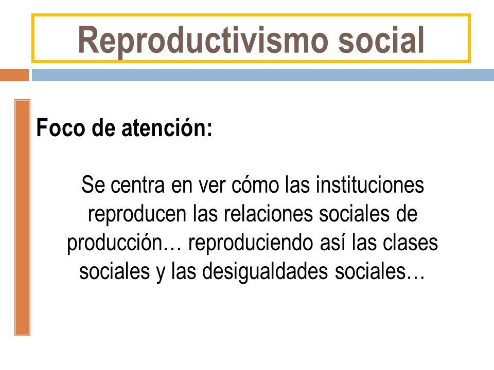 Reproductivismo social