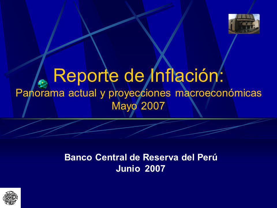 Banco Central de Reserva del Perú Junio 2007