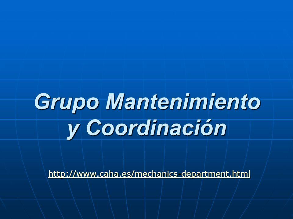 Grupo Mantenimiento y Coordinación